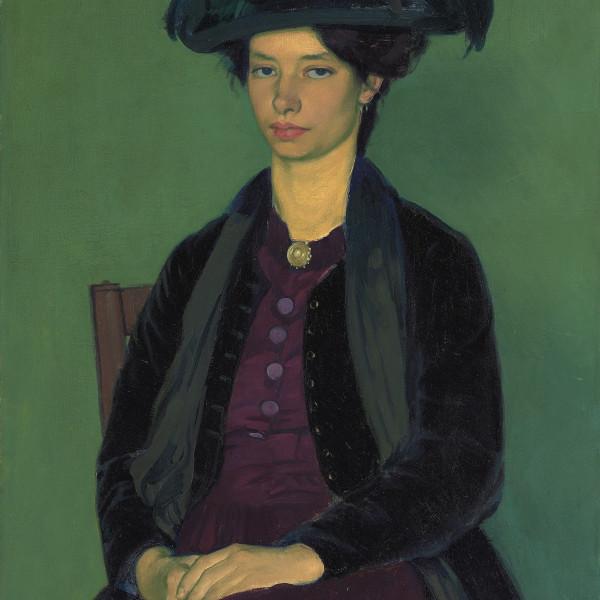 Portrait of Edie McNeill, 1909