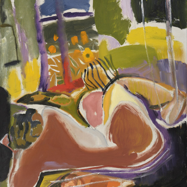 Nude in Summer , c1942