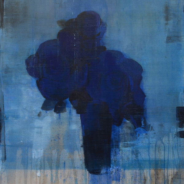Daniel Brice - PP-Blue on Blue, 2018