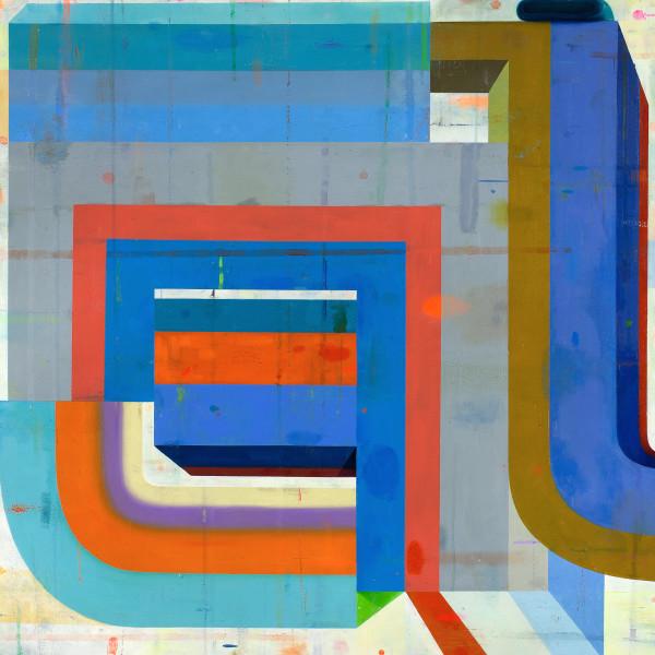 Deborah Zlotsky - On, over, through, 2017