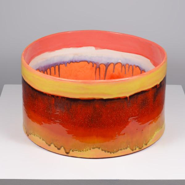 Lauren Mabry - Cylinder (Red, Pink, Orange)