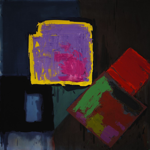John Hoyland - Quadrella A, 1980