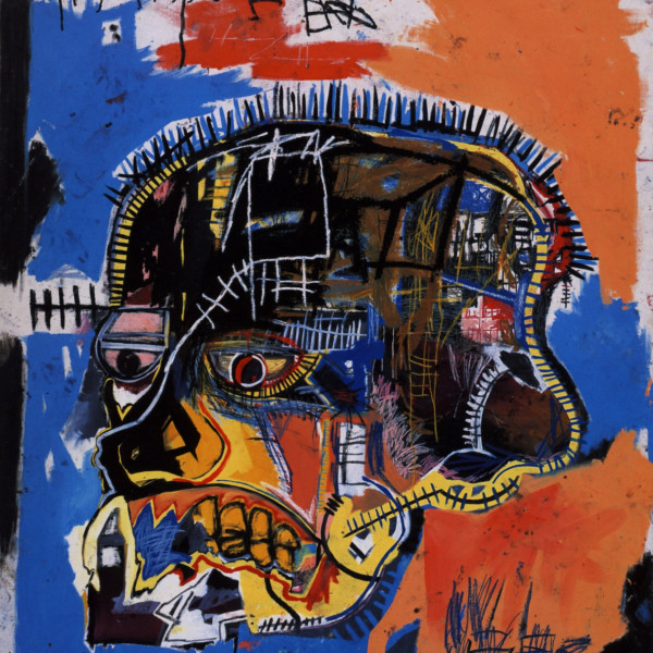 Jean Michel Basquiat - Scull, 1981