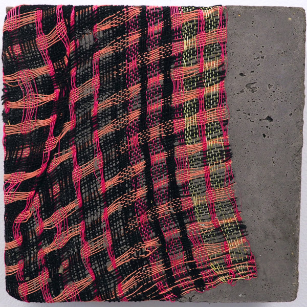 Crystal Gregory - Fold Enfold Unfold, Deflected Double Weave 3