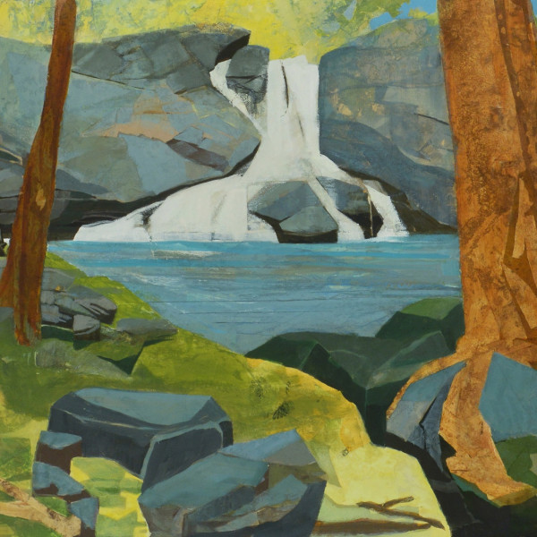 Mariella Bisson - Summer Falls Panorama - Artists page image