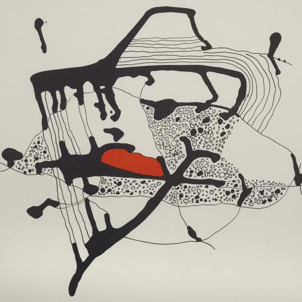 Maltby Sykes (1911 - 1992) - Zen Garden Four