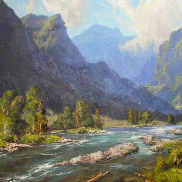 Bill Davidson - YELLOWSTONE RIVER