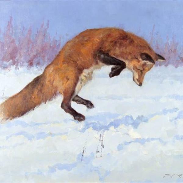 John DeMott - POUNCING FOX