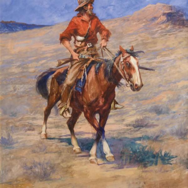 Edgar Paxson - In Injun Country