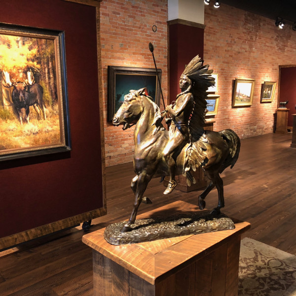 Alexander Phimister Proctor - Equestrian Warrior