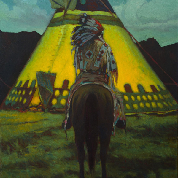 William L. Maughan - Blackfoot TeePee