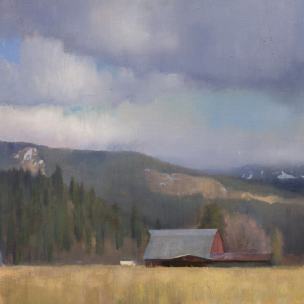 Devin Michael Roberts - HOMESTEAD ALONG THE FOOTHILLS