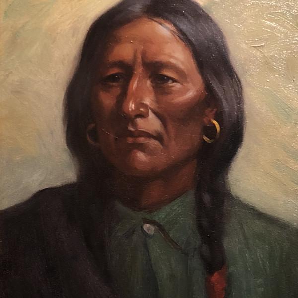 Joseph Henry Sharp - Medicine Wolf-Cheyenne