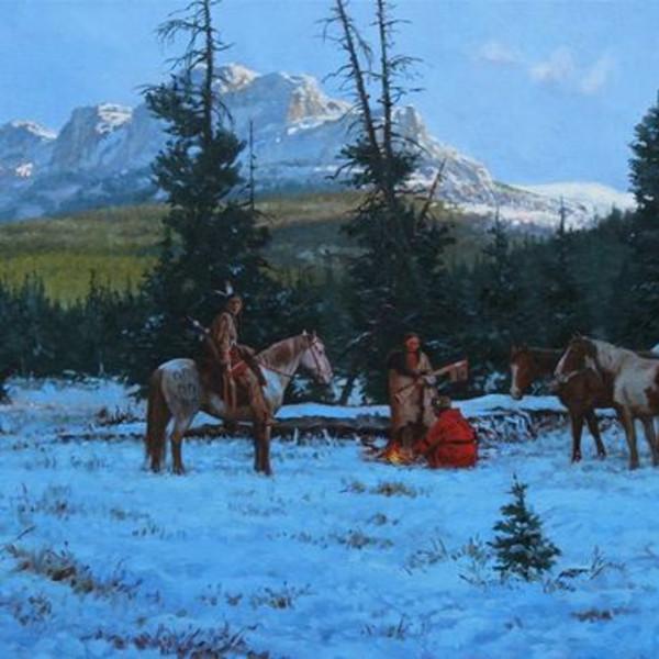 Steven Lang - HORSE RAID MORNING