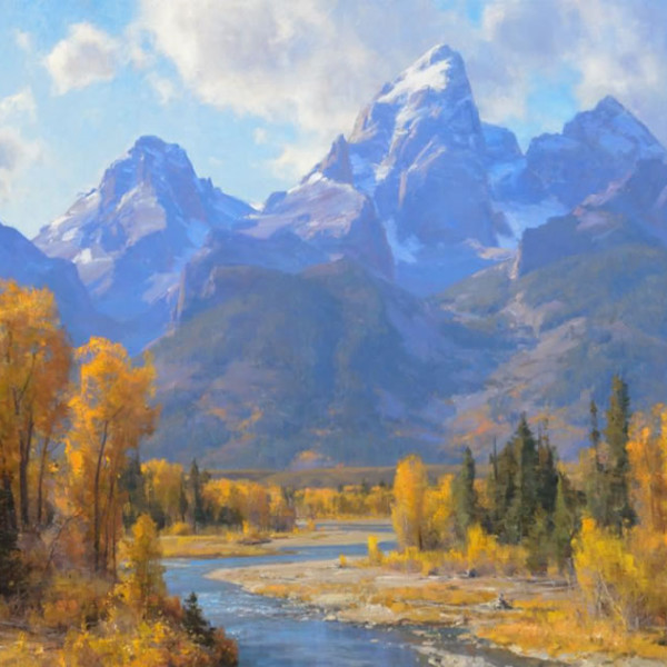 Clyde Aspevig - The Tetons, Wyoming