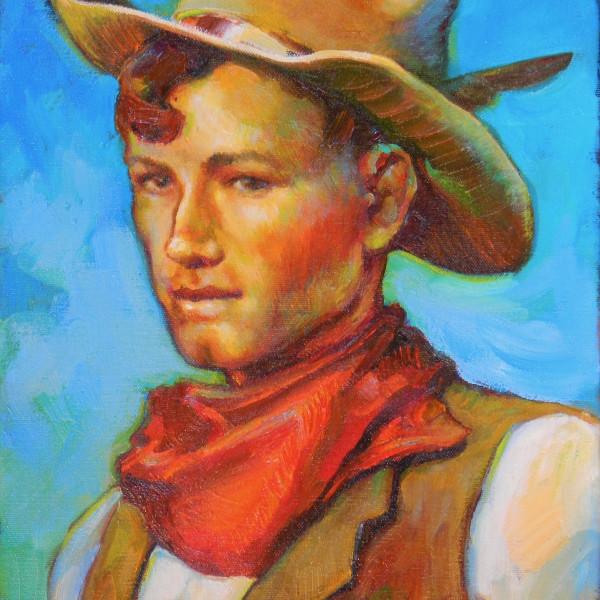 Beth Loftin - Turquoise Cowboy
