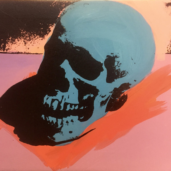Charles Lutz - Skull painting, 2007