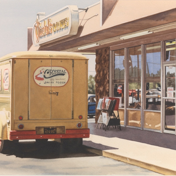 Ralph Goings - Crystal Delivery Truck, 1972