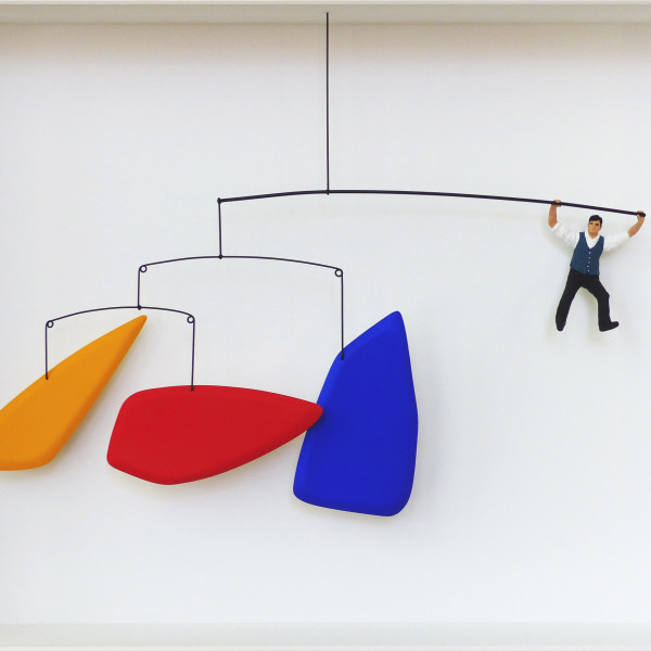 Volker Kuhn - Homage to Calder, swing