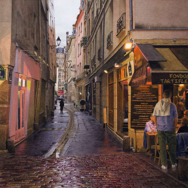 Steven Kozar - Rainy Evening in Paris
