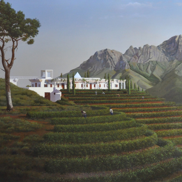 Carl Laubin - Ex Africa Semper Aliquid Novi; the Winery at Vergelegen