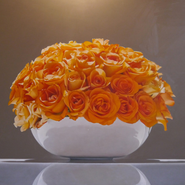 Sarah Sibley - Orange Roses