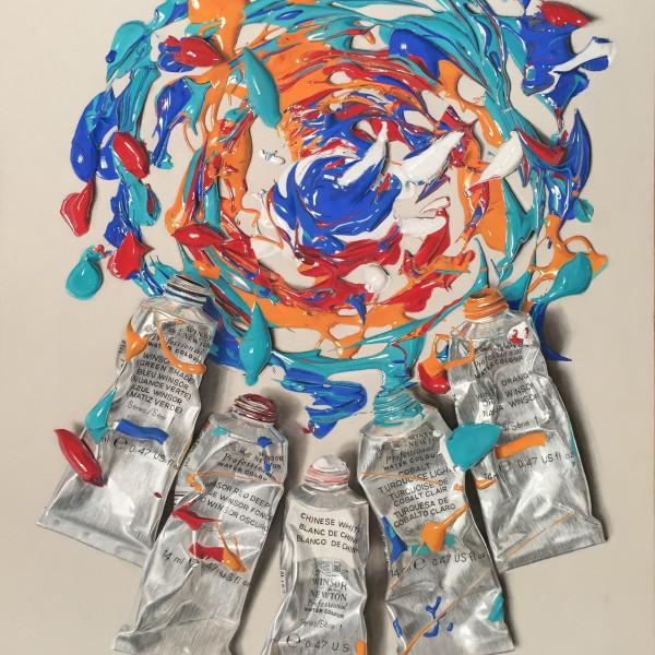 Nourine Hammad - Chaos 3, Swirl