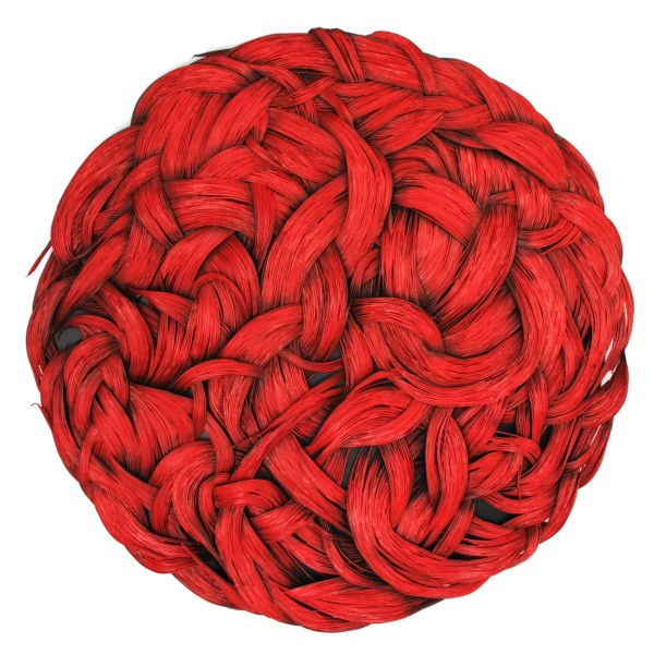 Oksana Bergen - Alive (Red) Large, 2019