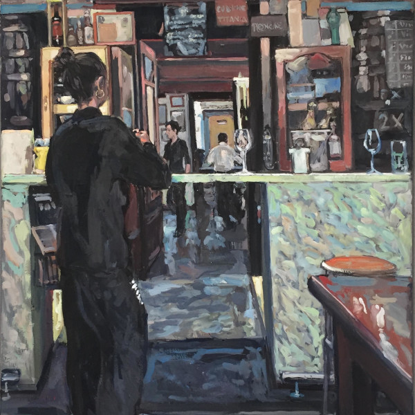 Hector McDonnell RUA - Girl at the Bar, Valencia