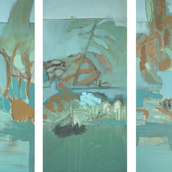 Julie Cusack - September I, II, III (triptych)