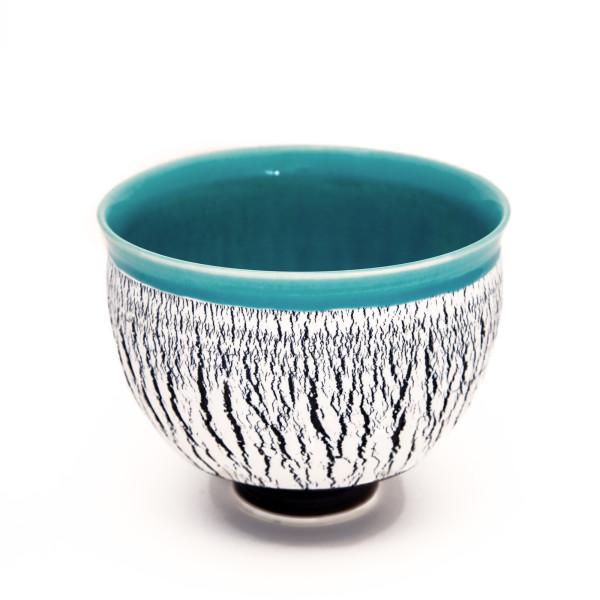 Hugh West, Large crackled bowl