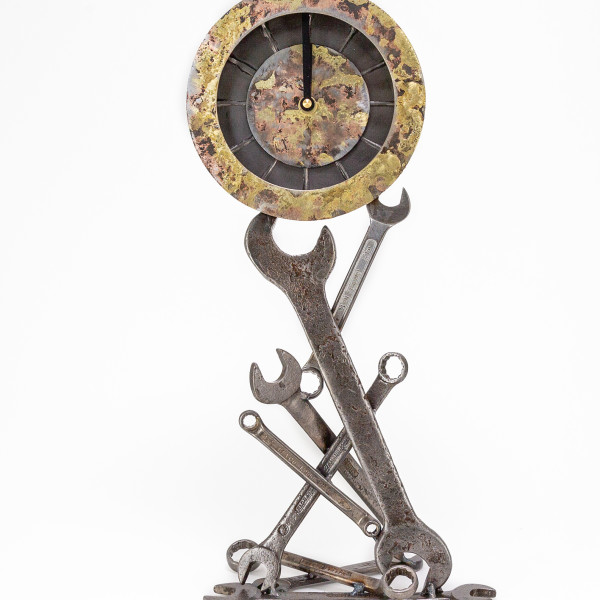 Kerry Whittle - Spanner Clock
