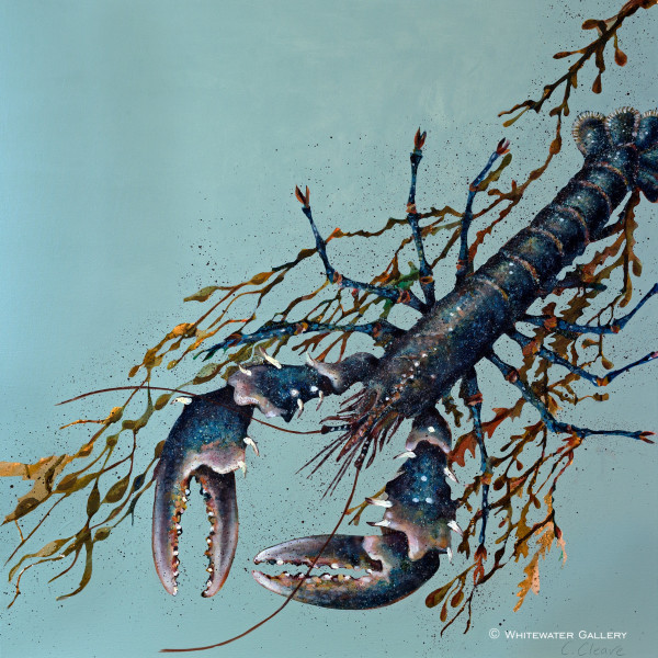 """Caroline Cleave, Port Isaac """"In Shore"""" Lobster, 2018"""