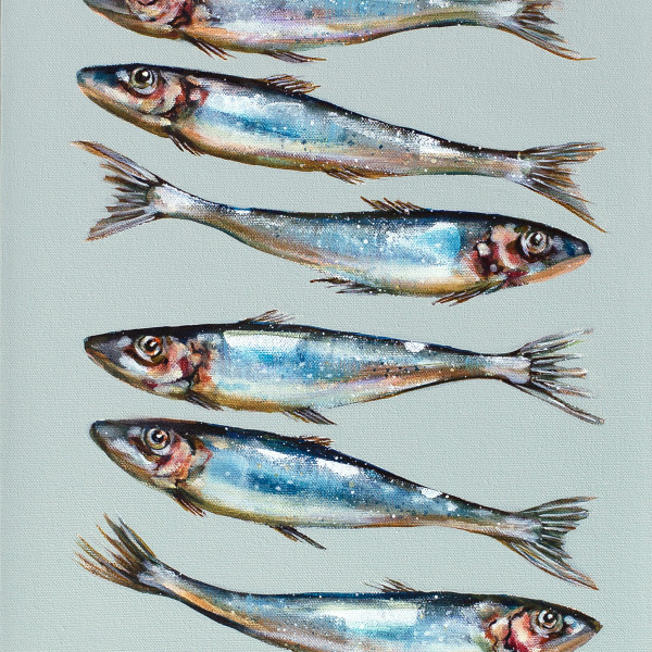Caroline Cleave, Twelve Sardines