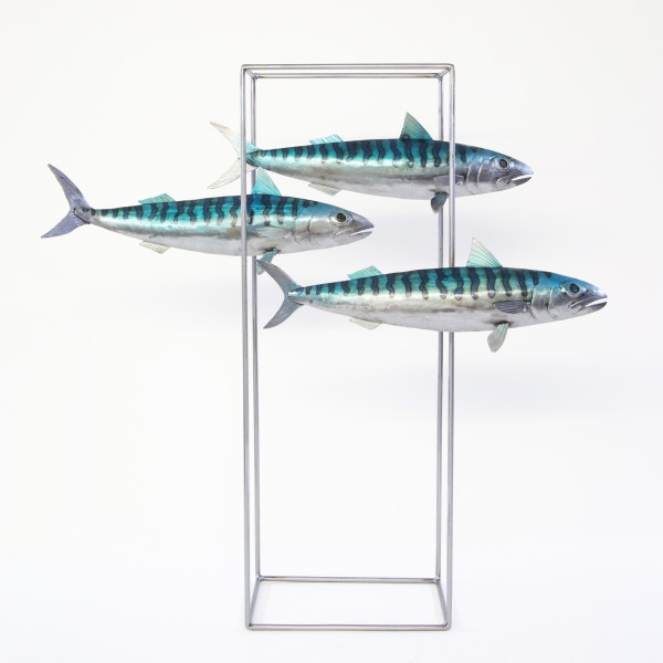 Kerry Whittle, Three Fish in Frame