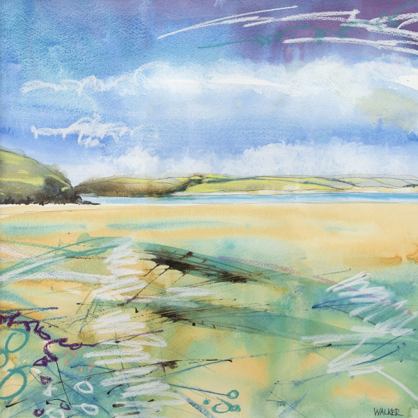 Rob Walker, Receding Tide, Daymer Bay