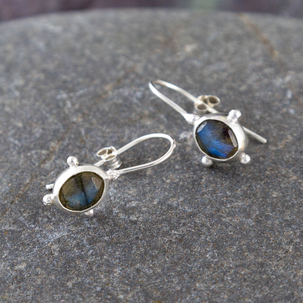 Marsha drew, Morwen Drop Earrings Labradorite