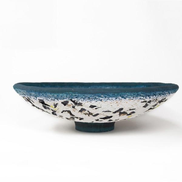 Paula Downing - Blue 'Gem' Plate