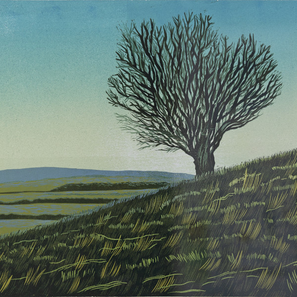 Peter Ursem, Tree on a Hill