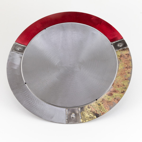 Tilly Whittle, Bowl with Red and Gold Brim