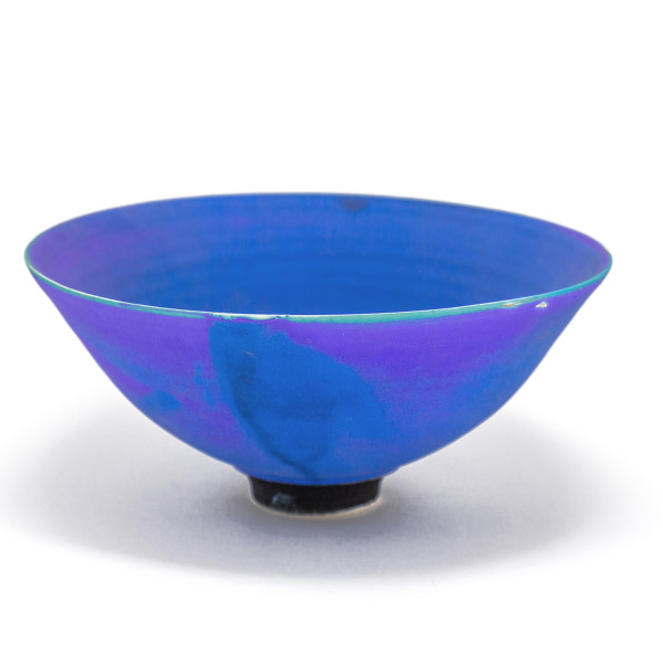 Hugh West, Electric Blue Matt Glazed Bowl