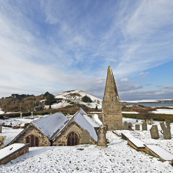 Nick Wapshott - St Enodoc Snow