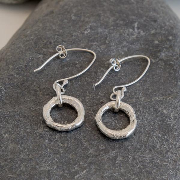 Marsha Drew, Rockpool Halo Drop Earrings