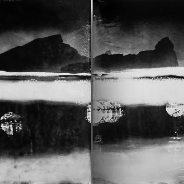 Nick Reader, Light Impressions - Oceangraph Diptych