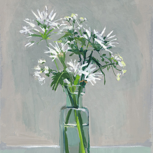 Lizzie Bentley, Wild Garlic and Cow Parsley