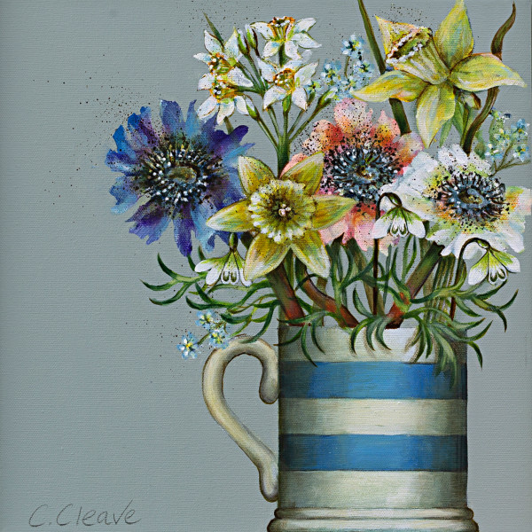 Caroline Cleave, Flowers in Cup