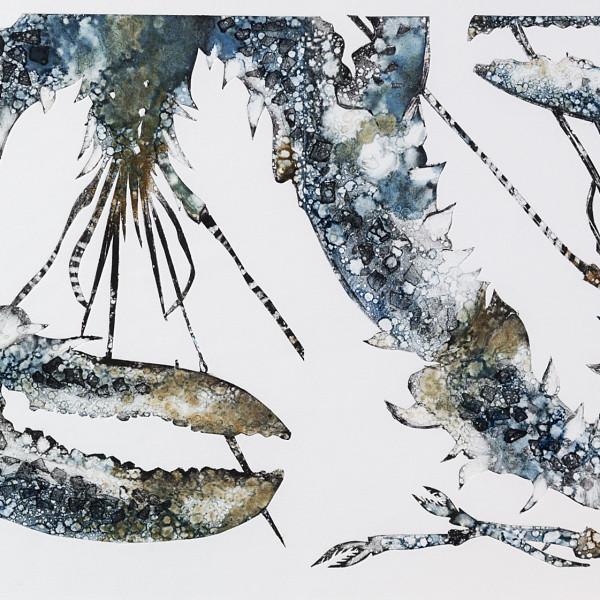 Caroline Cleave, Two Blue Lobsters