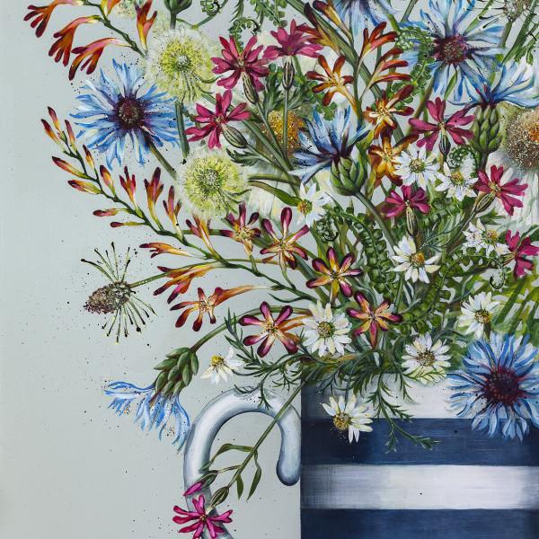 Caroline Cleave, Spring Flowers V