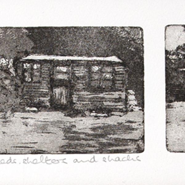 Sarah Seddon, Sheds, Shelters and Shacks