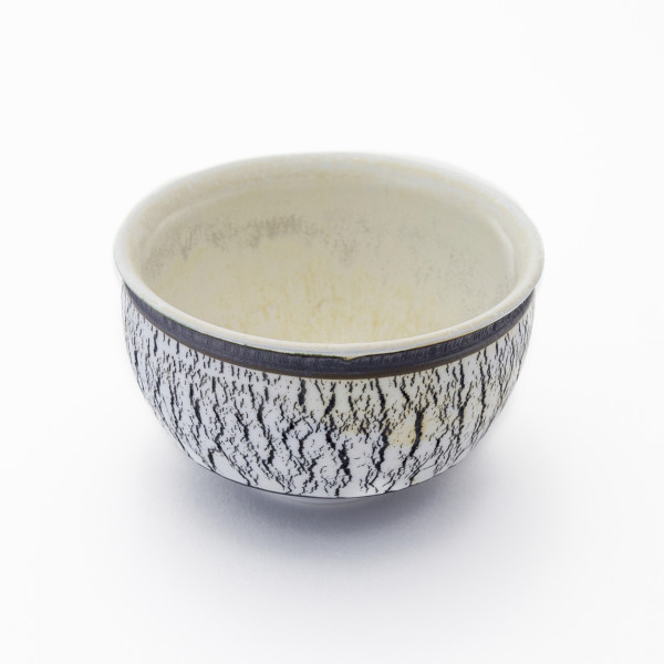 Hugh West, Black and White Primrose Bowl, 2018